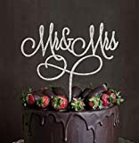 Mr and Mrs cake topper, acrylic wedding cake topper party cake Decoration