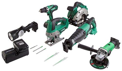 hitachi-ktl618dgl-jf-18-v-cordless-li-ion-kit-with-2-x-25-ah-batteries-green-black-6-piece