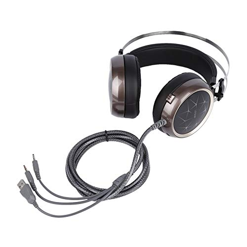 8Eninine Leshp Cool Crack Pattern Audio Interface 3,5 Mm 32 Ω 40 MW 108 ± 3Db Game Headset - 40 Mw-audio