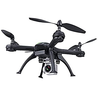 Drone, 5G wifi signal connection followed by shooting four-axis drone, GPS positioning, headless mode, one-button take-off, landing anti-drop remote control aircraft toy