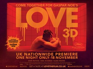 LOVE - Gaspar Noe – US Imported Movie Wall Poster Print - 30CM X 43CM Brand New