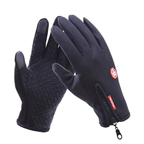 ASAP CHIC Guanti invernali, guanti da ciclismo Guanti touch screen Guanti caldi impermeabili e antivento per ciclismo Equitazione Corsa Sci e attività invernali all'aperto