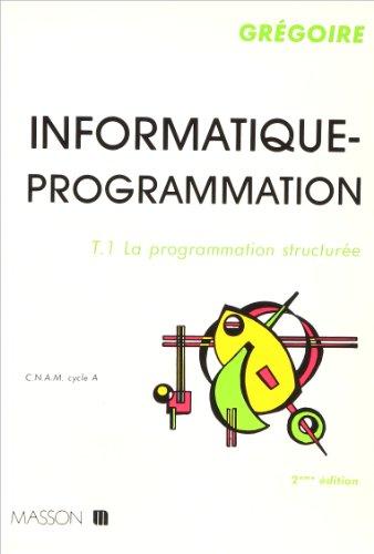 La Programmation structurée