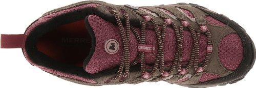 Merrell MOAB WATERPROOF J88796, Chaussures de randonnée femme Boulder/Blush
