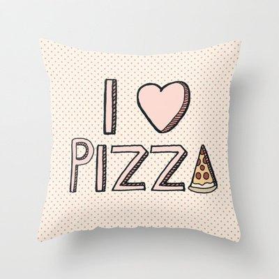 Decorazione casa, federa per cuscino nuova moda Love Pizza federa federe