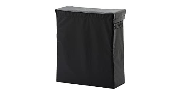80 L Noir Sac à Linge Avec Support Ikea Skubb Dolly Cl