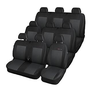 Elegance (E3) (maßgeschneidert) - Autoschonbezug-Set (9-Sitzer) - 5902538432658