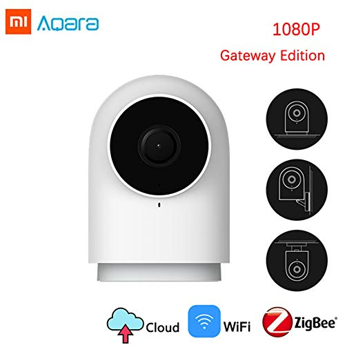 Home-audio-gateway (Dewanxin für Xiaomi Aqara G2 1080P IP-Kamera, WiFi-Überwachung, Bidirektionales Audio, Nachtsichtverbesserung, Umanoid-Erkennung, Video-Nachrichten mit Einem Clic, Gateway Funktion)