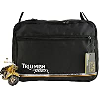 Koffer Innentaschen für Triumph Tiger 800, 800XC XC, Explorer KofferInnentaschen Schwarz-Grau
