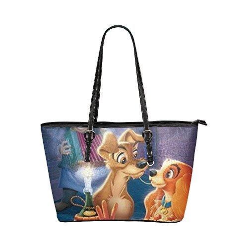 angelinana-custom-the-lady-and-the-tramp-leather-tote-bag-handbag-shoulder-travel-bag-for-women-girl