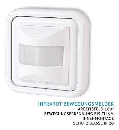 Sonero X-IMS050Infrarot Bewegungsmelder für Wandmontage - 2