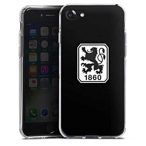 Apple iPhone 5 Silikon Hülle Case Schutzhülle TSV 1860 München Fanartikel Bundesliga Silikon Case transparent