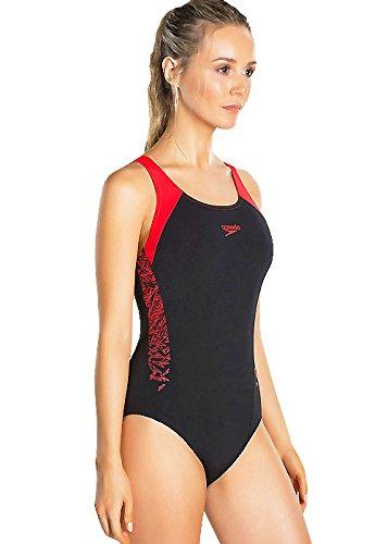 Speedo Boom Splice Muscleback Costume da Bagno Donna 3 spesavip