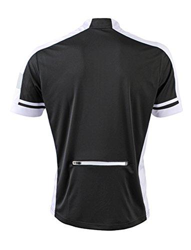 Men's Bike-T-Half Zip im digatex-package Black