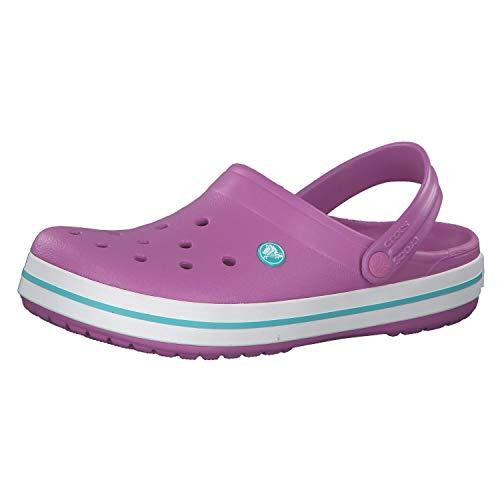 Crocs Unisex-Erwachsene Crocband Clog, Pink (Violet/White 592), 37/38 EU