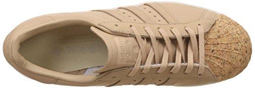 adidas Damen Schuhe Superstar 80S Cork W Braun