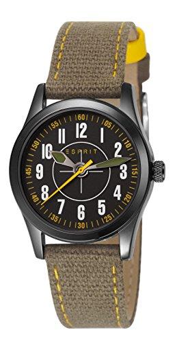 Esprit Jungen Armbanduhr Datum klassisch Quarz Nylon ES103444005