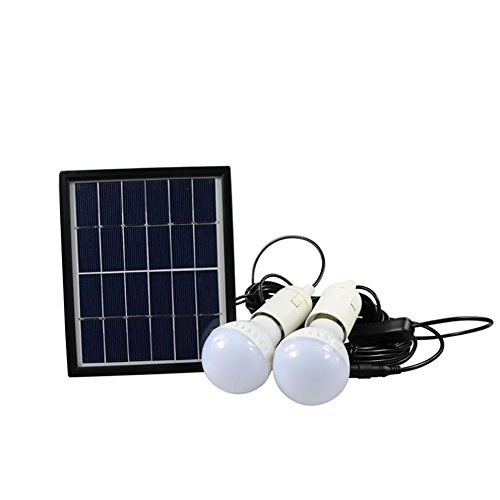 xydm Tragbares Solar Power Mobile Beleuchtung System LED Doppel Leuchtmittel Außenbeleuchtung Notlicht Camp Zelt Angeln Lampe energiesparend -