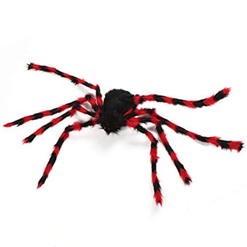 Jasnyfall Halloween Spinne Dekorationen Halloween Spinnennetz Halloween Requisiten -