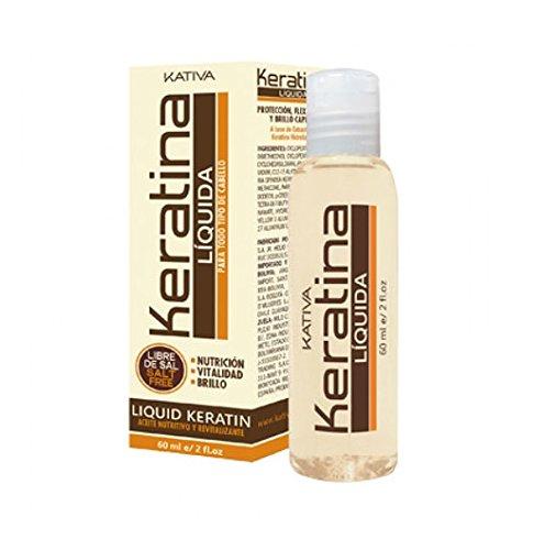 Kativa Keratina Líquida - Aceite Nutritivo y Revitalizante - 60 ml
