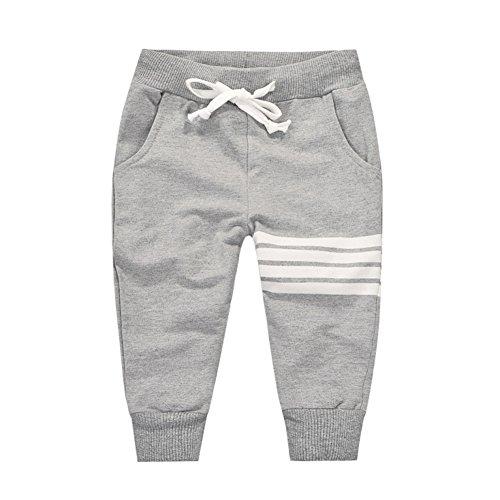 Loveble Peu Des gamins Garçons Printemps / été / automne Coton Bande Pantalons imprimés intégralement de 1 à 10 ans