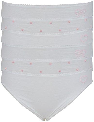 6 de alta algodón bordado camiseta de fútbol para hombre patas de madera de calzoncillos