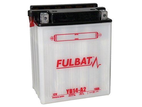 Preisvergleich Produktbild Batterie Fulbat YB14-A2 für Arctic Cat Cat 400 4WD Bj. 2005 inkl. 7, 50 EUR Batteriepfand