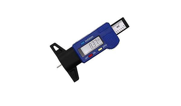 camionnettes jauge de Profondeur de Pneu num/érique avec /écran LCD et Piles pour Voitures CACHOR Jauge de Profondeur de Pneu num/érique camions 0-25,4 mm SUV