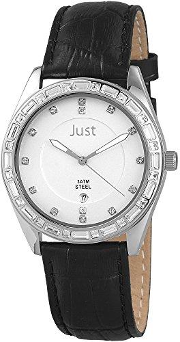 Just Watches 48-S8262A-SL-BK - Orologio da polso donna, pelle, colore: marrone
