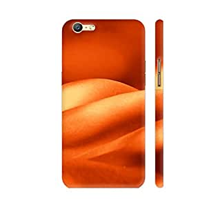 Colorpur Oppo A57 Cover - Hot Curves In Orange Printed Back Case