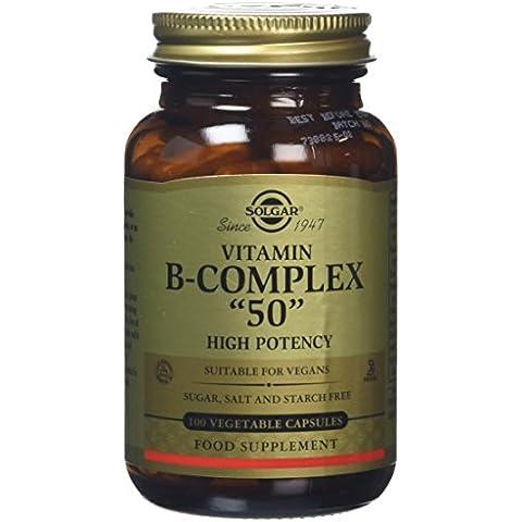 VIT. B COMPLEX50 100CAP VEGETA