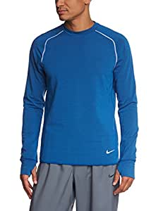 NIKE Dri-FIT Sprint Crew T-shirt à manches longues S Hyper Cobalt/Reflective Silv