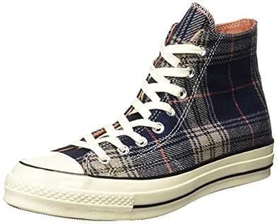 Converse Unisex's Navy/Terracotta Red/Egret Sneakers-10 UK/India (44 EU) (8907788145720)