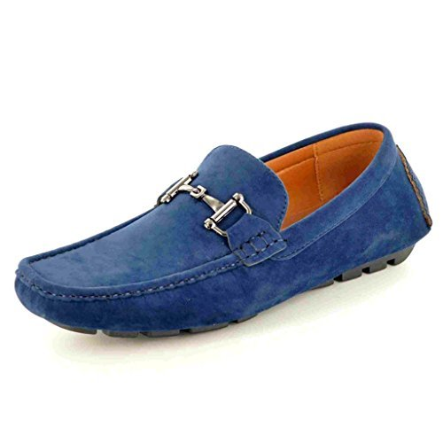 Scarpe mocassini da uomo, da infilare, blu