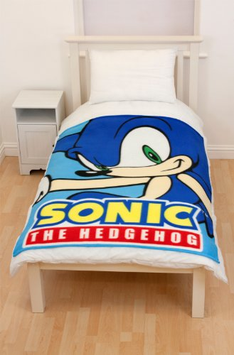 sonic-the-hedgehog-couverture-polaire-face