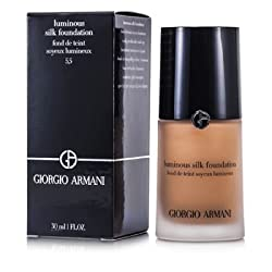 Giorgio Armani Luminous Silk Foundation -  5.5 (Natural Beige) 30ml/1oz
