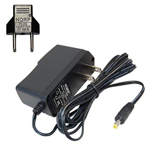 HQRP Adaptateur CA pour Omron M500, M700, M300, M400, M2, M3, M3W / HEM-7202-E(V), M6 Comfort/HEM-7223-E, M6W / HEM-7213-E, M10-IT/HEM-7080IT-E Contrôle de la Tension artérielle