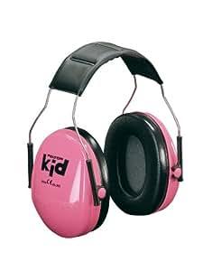 3M Peltor Kid Kapselgehörschützer für Kinder ab 2 Jahren, Lärmpegel bis 98 dB, sehr leicht, neonpink, H510AKPC