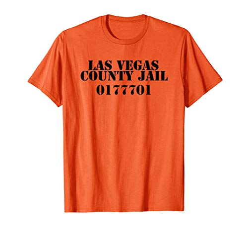 Las Vegas County Gefängnis Insasse Neuheit Souvenir Shirt
