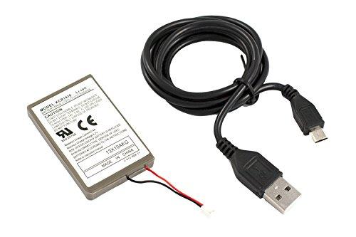 GAMINGER PS4 Batterie Akku mit 2000mAh für den PS4 Dualshock4 Controller doppelte Spielzeit im Vergleich zum Originalcontroller, für Dualshock 4 Controller der PS4 - nicht kompatibel mit PS4 Slim / Pro Controller