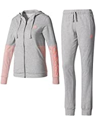 adidas BS2604 - Chándal para mujer, color Multicolor (Brgrin/Rostac), talla M