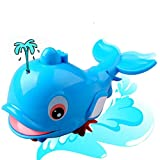 Bath Toy Baby New Swimming Dolphin Wound-Up Chain Toys Small Classic Toys Gift by LMMVP