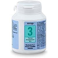 Schuessler Salz Nr. 3 - Ferrum phosphoricum D12 - 400 Stk. Tabl., Biochemie, glutenfrei