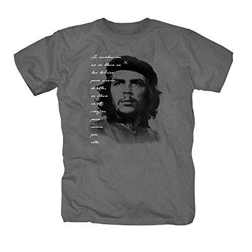 shirtmachine T-Shirt Che Guevara, Zink, S