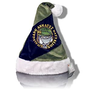 WWE John Cena Chain Gang Assault Battalion Santa Hat