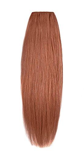 American Dream Extensions capillaires 100% cheveux humains 40,6 cm de qualité supérieure Couleur MP67 – Cuivre Léger
