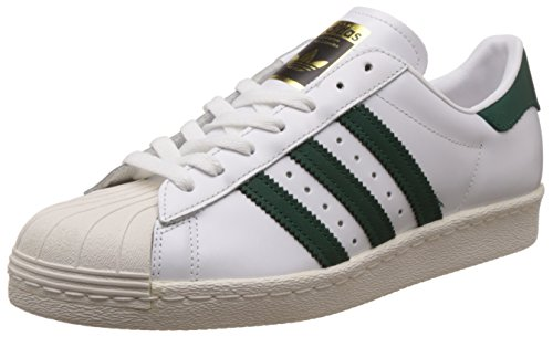 adidas Superstar 80s chaussures Footwear White Collegiate Green