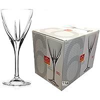 RCR Crystal Fusion Set di 6 bicchieri a stelo da vino rosso