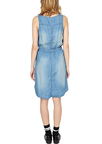 s.Oliver Denim 41.504.82.2170 - Robe - Femme Bleu - Blau (blue denim,medium stone w 54Y2)