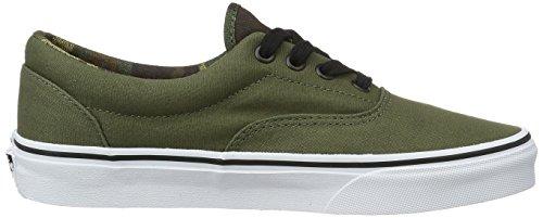 Vans Unisex Adulto Sneakers Verde (vintage Camo)